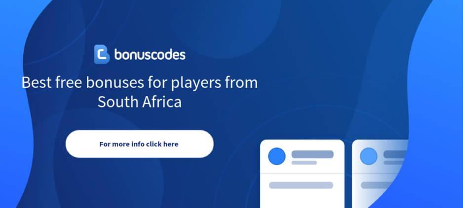 Bonus Codes South Africa
