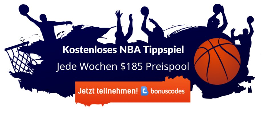 Kostenloses NBA Basketball Tipp Spiel