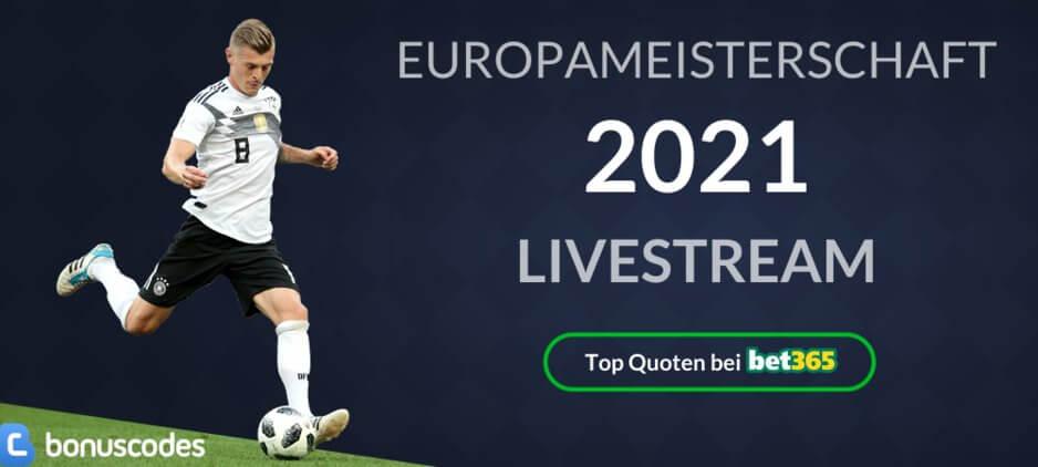 Europameisterschaft 2020 / 2021 Live Stream online gratis