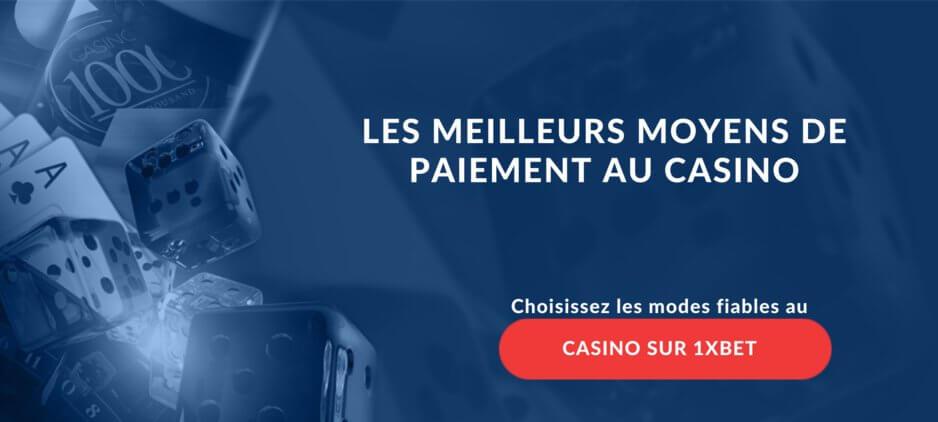 Méthodes De Paiement De Casino En Ligne