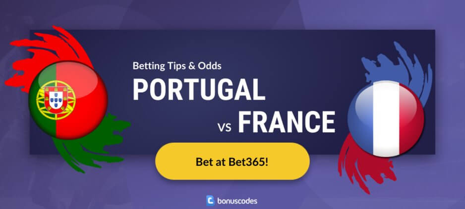 Portugal france betting bet365