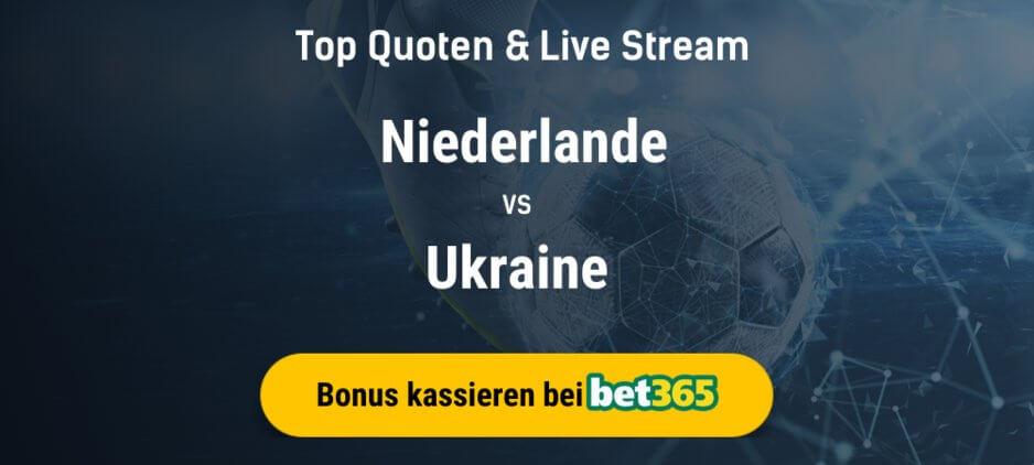 Niederlande gegen Ukraine Live Stream online kostenlos