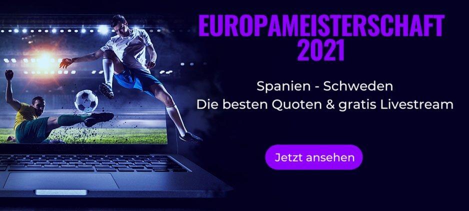 Spanien gegen Schweden Live Stream online kostenlos