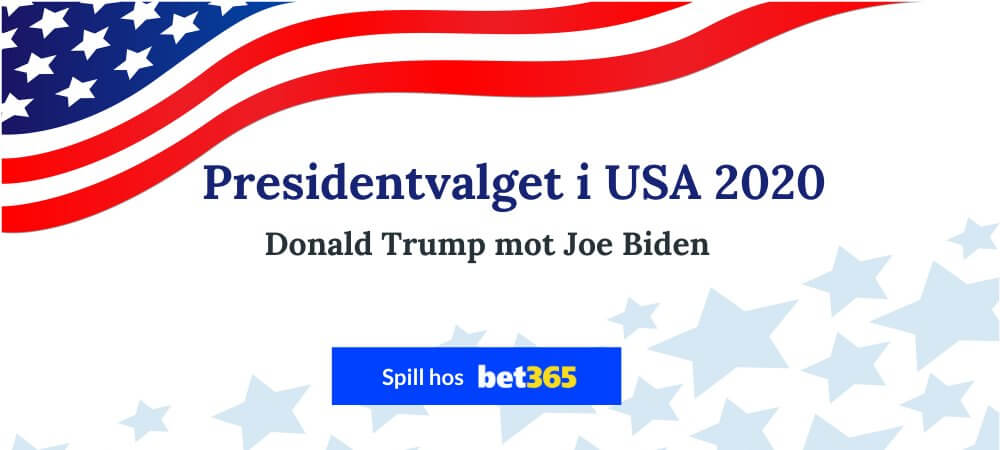 Betting tips på Presidentvalget i USA 2020