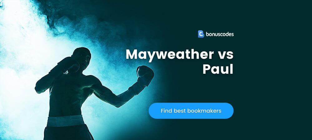 Mayweather vs Paul Betting Odds