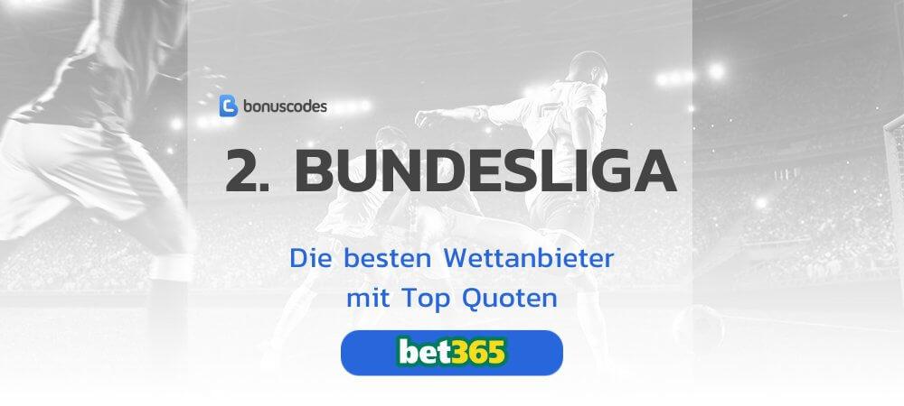 Beste Wettanbieter für 2. Bundesliga Wetten