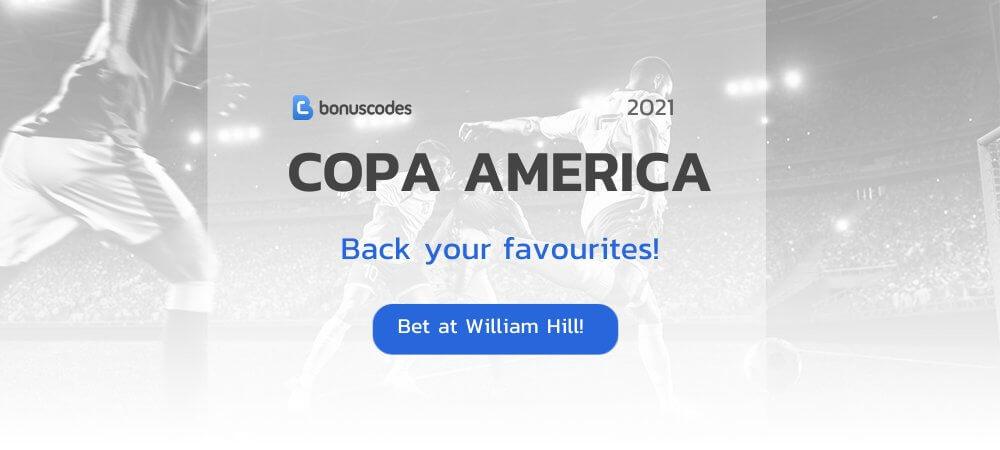 Copa America 2021 Betting Odds