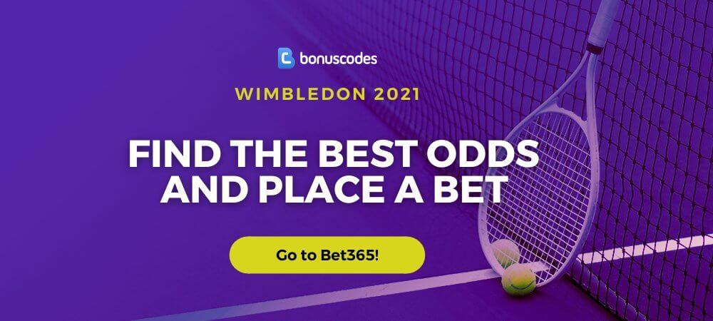 Wimbledon 2021 Betting Odds