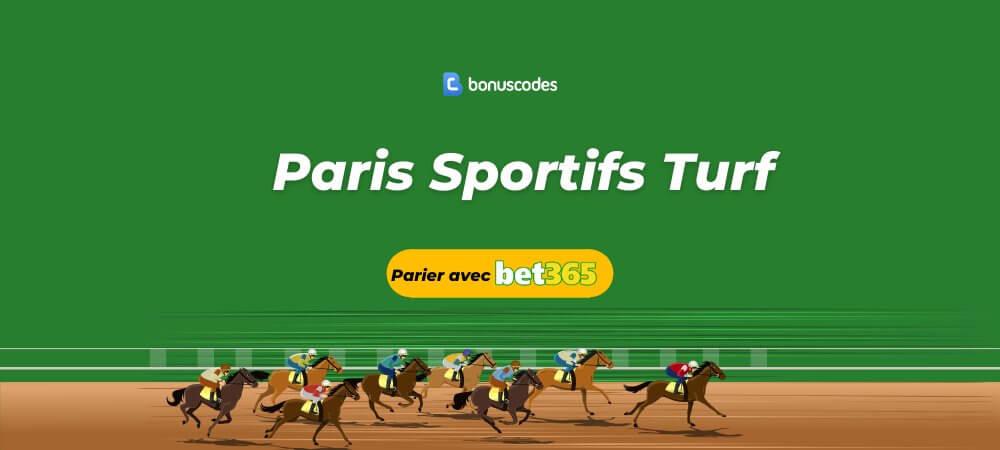 Paris sportif turf bet365