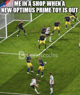 Optimus prime toy memes