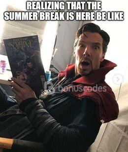 Summer break funny memes