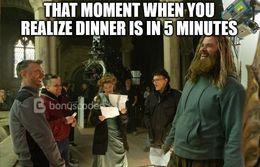 Dinner funny memes