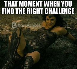 The right challenge memes