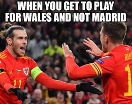 Play for wales memes