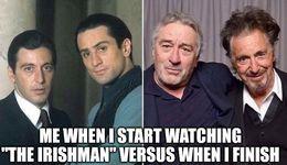The irishman memes