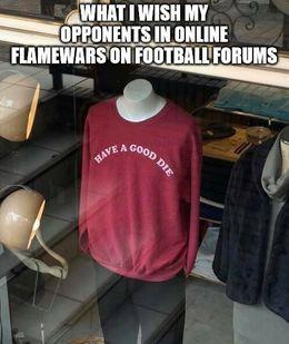 Football forums memes