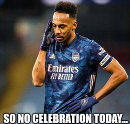 No celebration memes