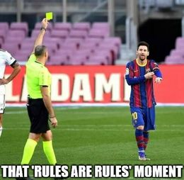 Rules are rules memes