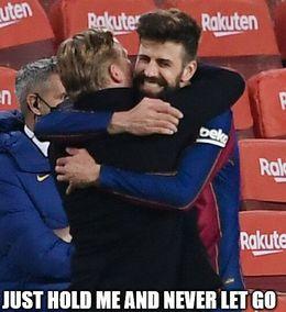 Never let go memes