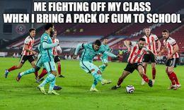 Pack of gum memes