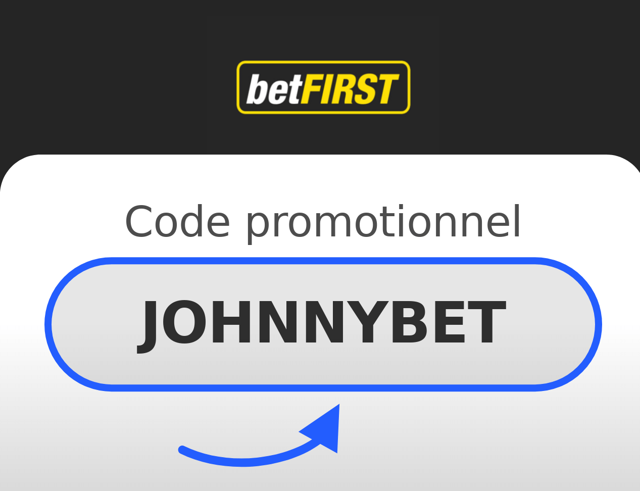 Code promotionnel Betfirst