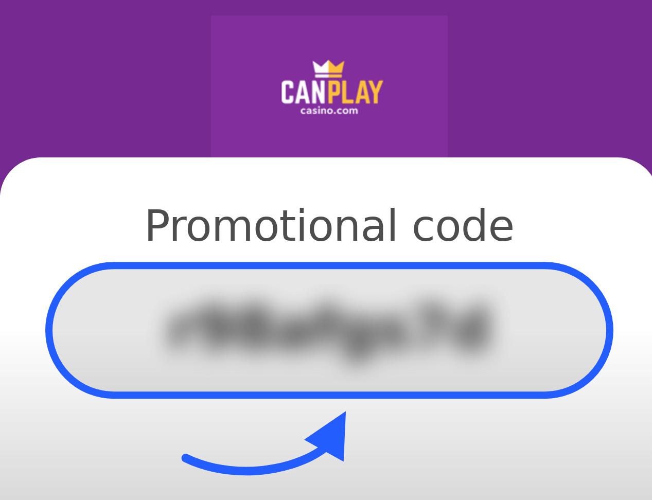 CanPlay Casino Bonus Code
