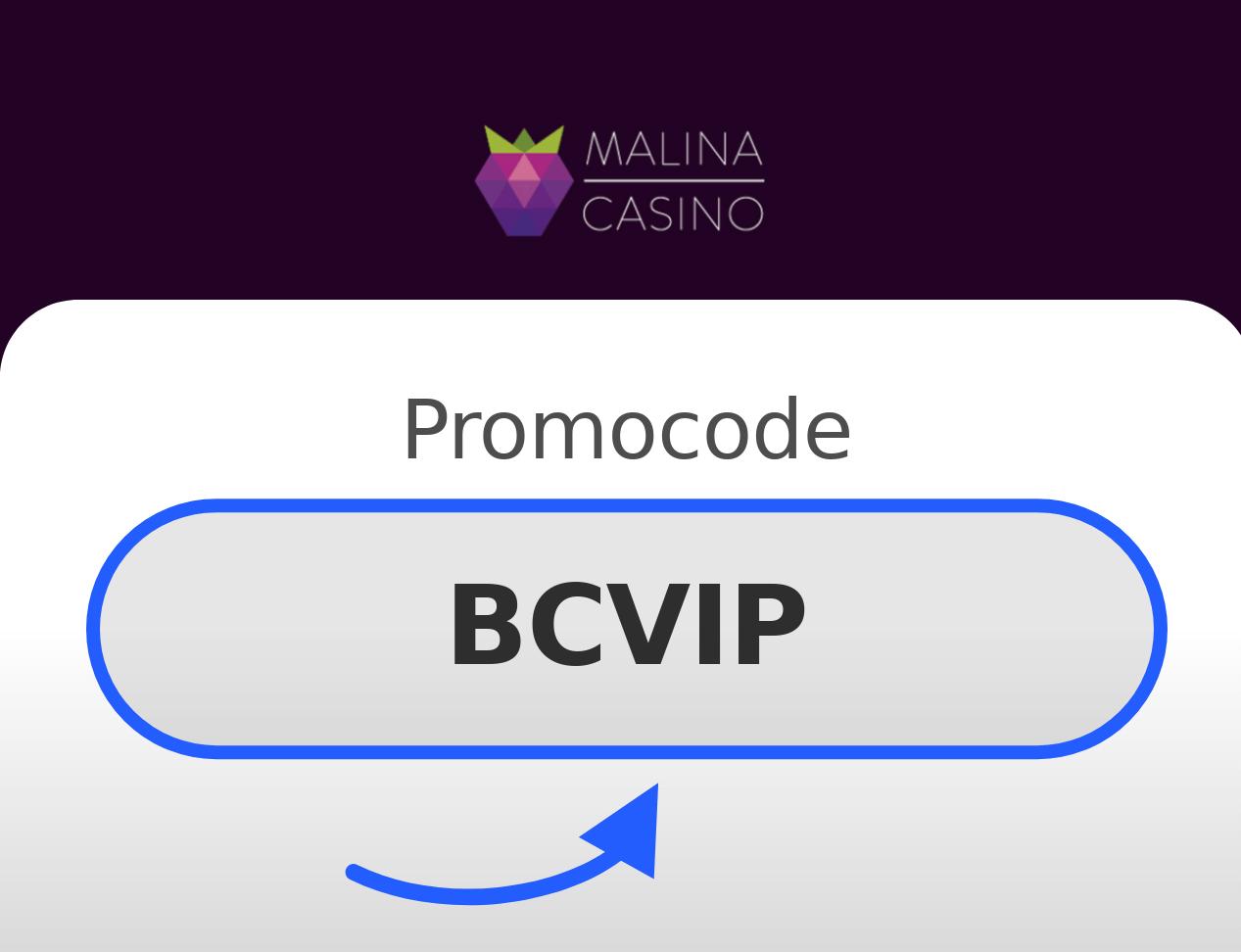 Malina Casino Promo Code