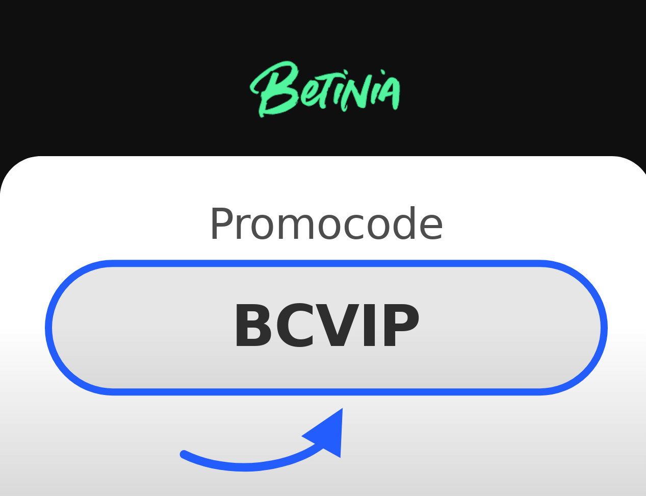 Betinia Promocode