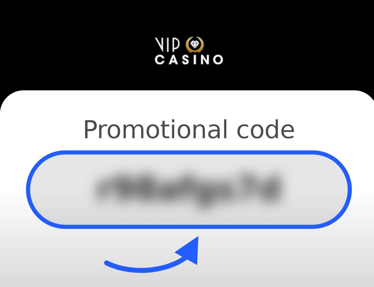 VIP Casino Promotional Code