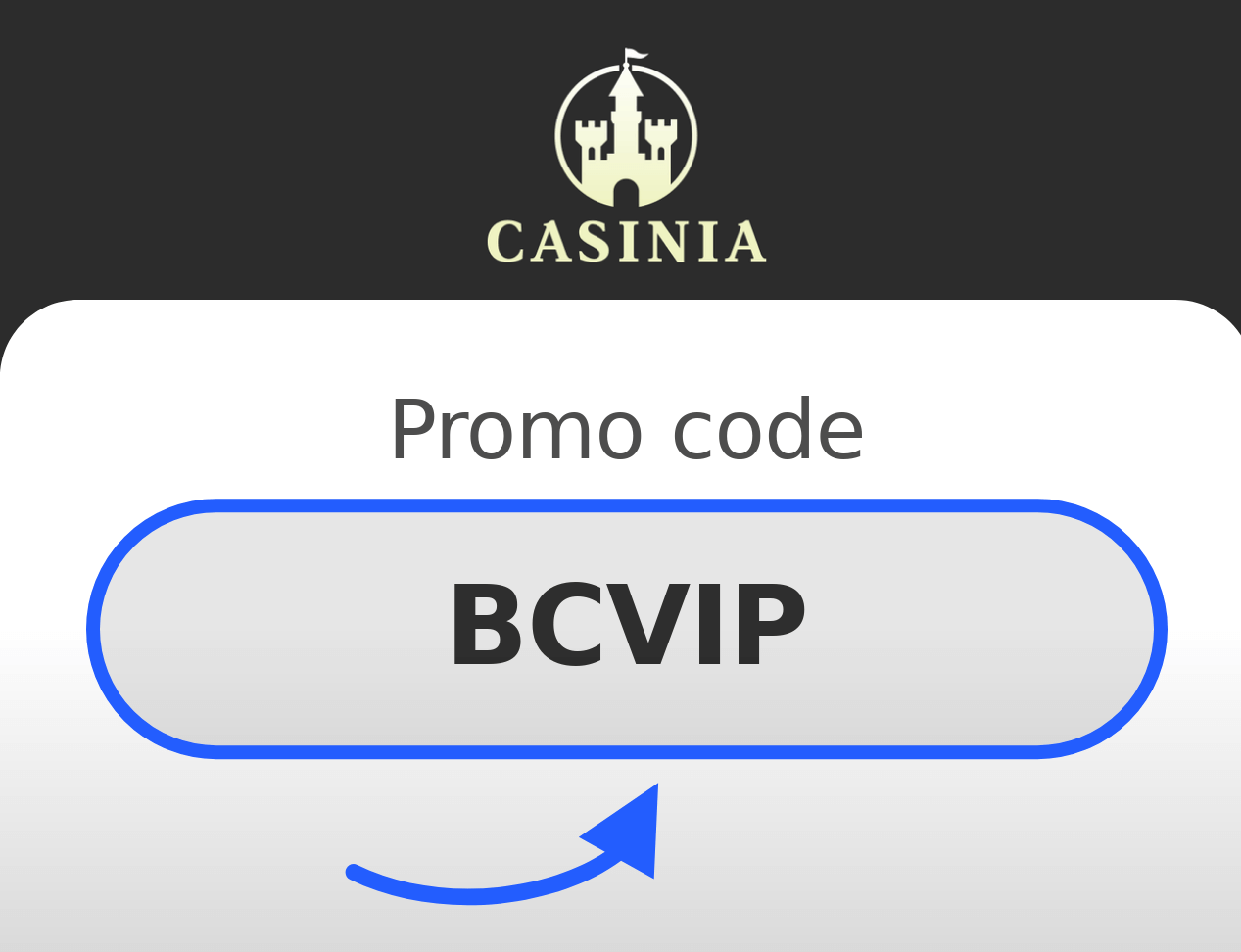 Casinia Promo Code