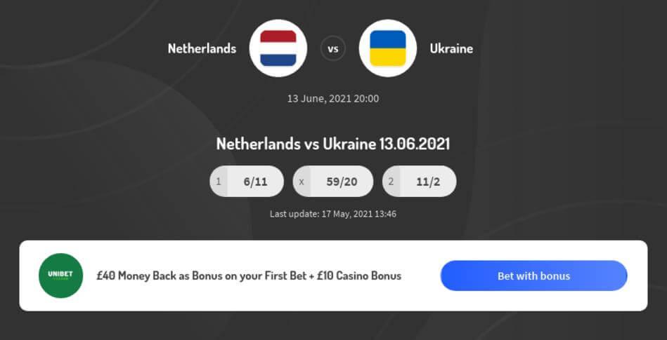 Netherlands vs Ukraine Predictions