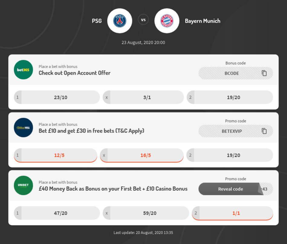 PSG vs Bayern Predictions