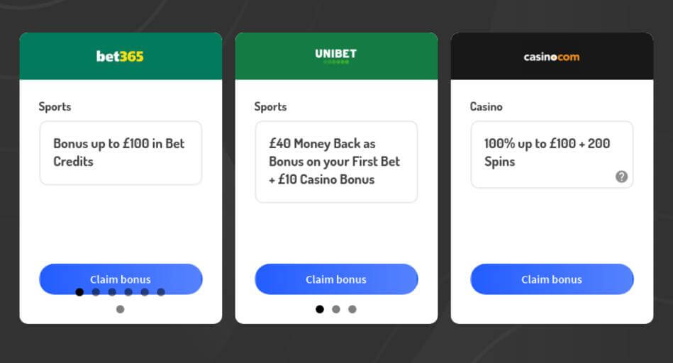 Bonus Codes for Legal Bookmakers and Casinos in Ireland