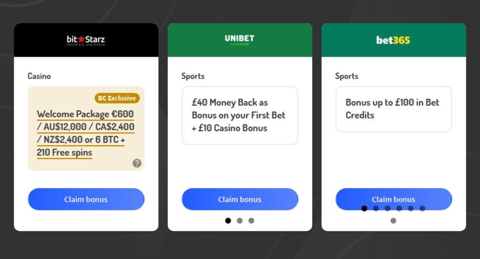 Bonus Codes for Legal Bookmakers and Casinos in Australia