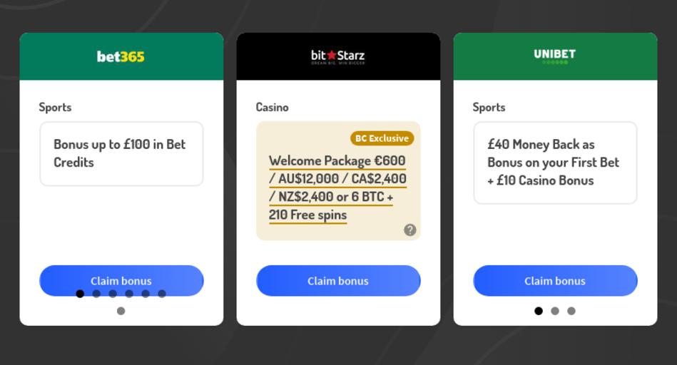 Bonus Codes for Bookmakers and Casinos in New Zealand