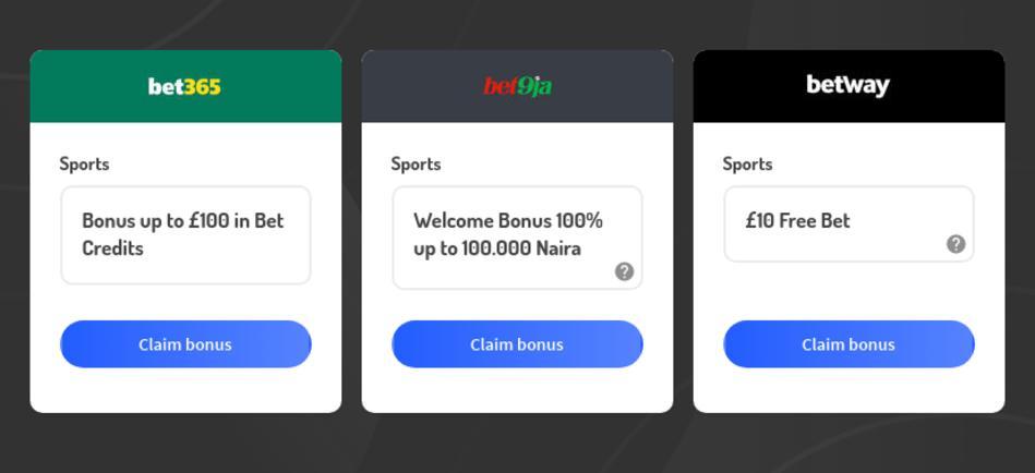 Best Legal Betting Sites in Nigeria