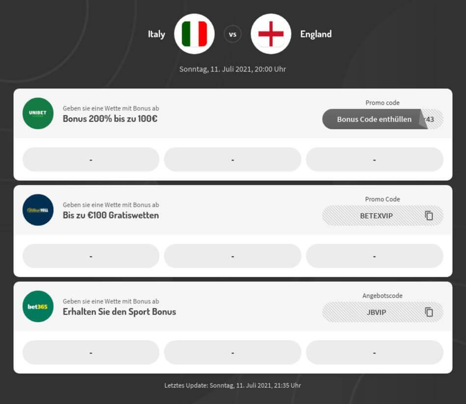 Europameisterschaft 2020 / 2021 Finale Live Stream online kostenlos