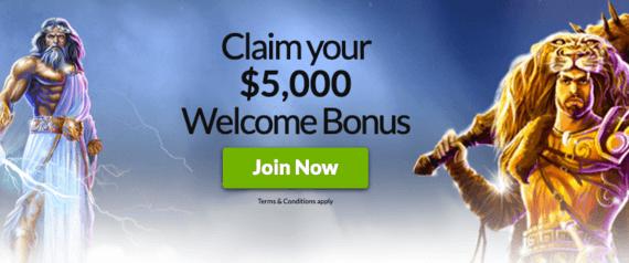 Mansion Casino Bonus Code